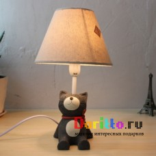 Лампа ночник Кошка