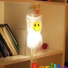 """Лампа светильник подвесная """"Капельница улыбка"""""""