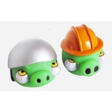 Антистресс игрушка Angry Birds (зелёная свинка)