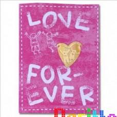 Закладка для книг Любовь на всегда