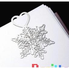 Закладка для книг Снежинка