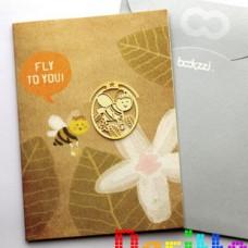 Закладка для книг Пчёлка