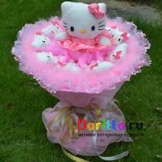 """Букет из игрушек """"Hello Kitty"""" 4"""