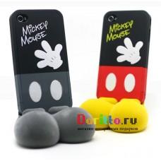 Чехол для iPhone 4 Mickey mouse + подставка