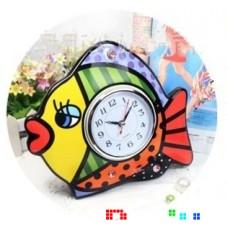 Керамические часы Рыба