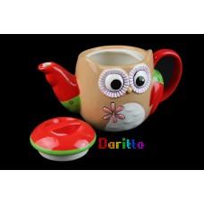 Чайник керамический Сова
