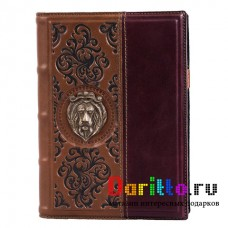 Ежедневник А5 «Лев» стиль