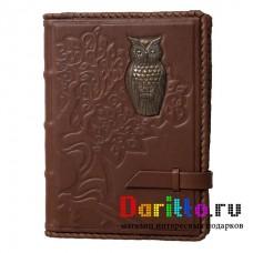 Ежедневник А5 «Мудрость» сова