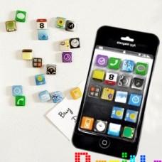 Набор магнитов Иконки Iphone / Ipad