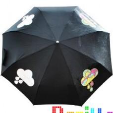 Зонт меняющий цвет Облако