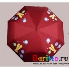 Зонт меняющий цвет Заяц