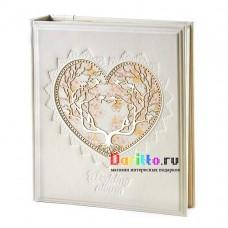 Свадебный фотоальбом большой «Вместе навсегда»