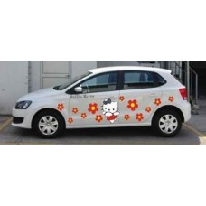 Наклейка на авто Hello Kitty