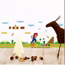Наклейка на стену Супер Марио