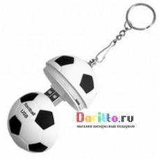 USB flash 4 Gb футбольный мяч брелок