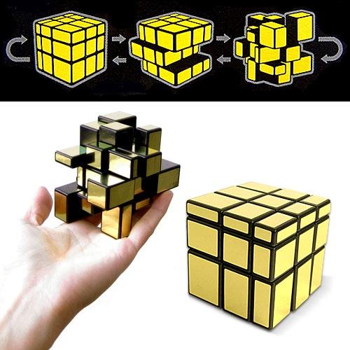 Зеркальный кубик головоломка Рубика